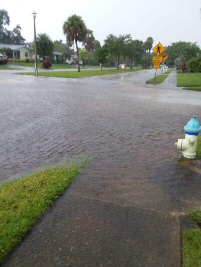 2018 Flooding at Corner of Gulf Gate Drive And Aruba