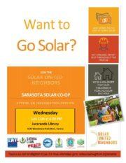 Solar Co-Op Information Session – Mark Your Calendar