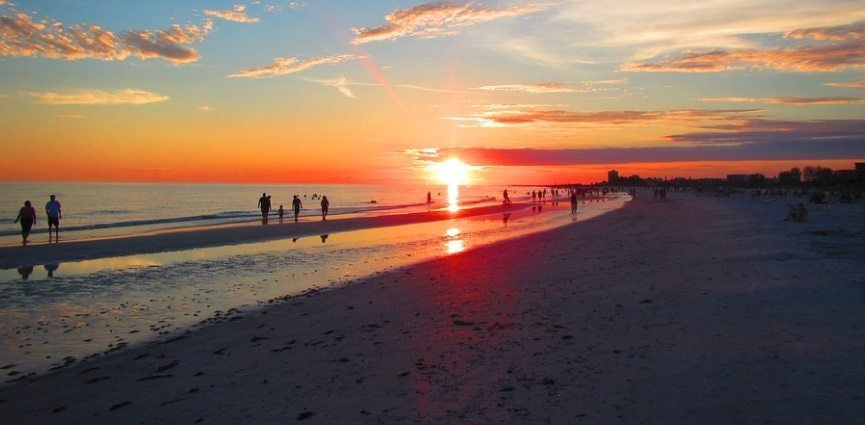 Siesta Key Beach Sunset