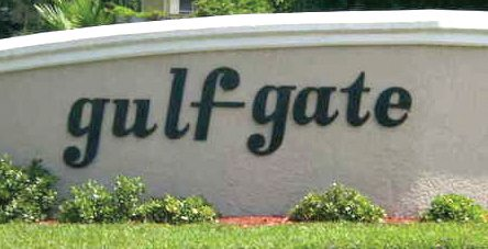 Gulf Gate Wall Monument